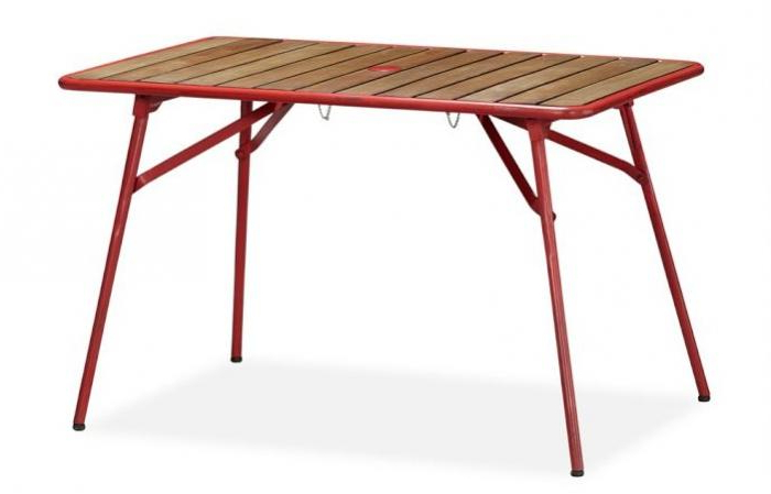 Current Folding Outdoor Dining Tables Inside 5 Favorites: Folding Outdoor Dining Tables – Gardenista (Gallery 3 of 20)