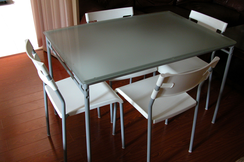 Current Glass Dining Room Table Ikea – Cheekybeaglestudios For Ikea Round Glass Top Dining Tables (Gallery 8 of 20)