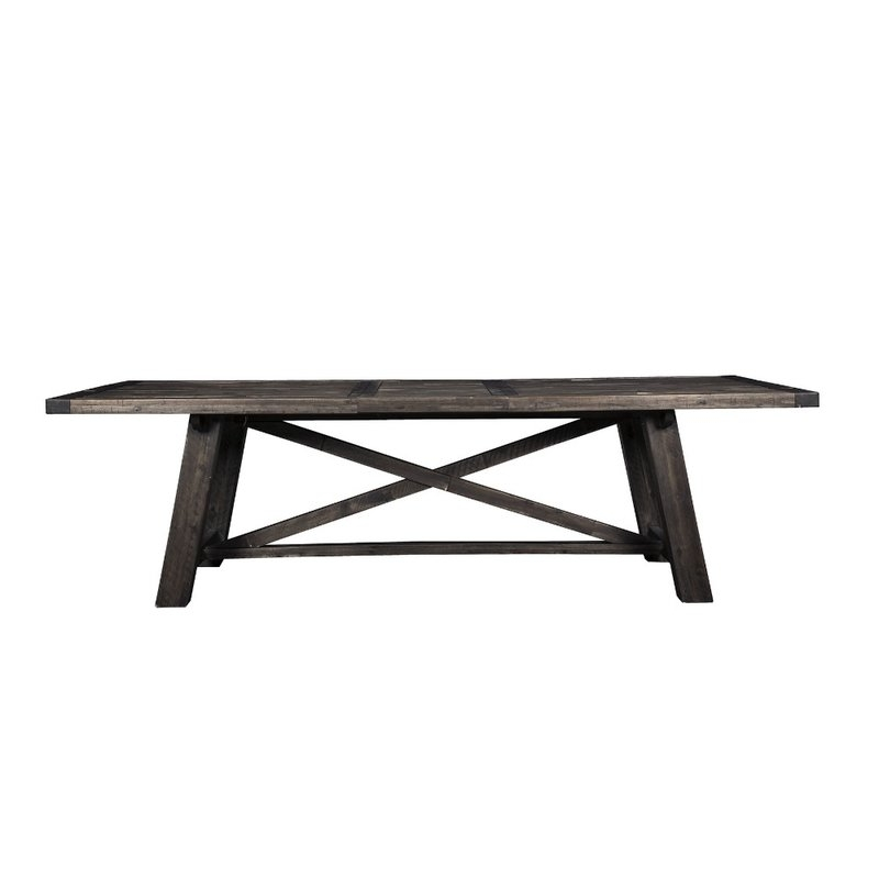 Current Gracie Oaks Lineberry Extendable Solid Wood Dining Table (View 14 of 20)