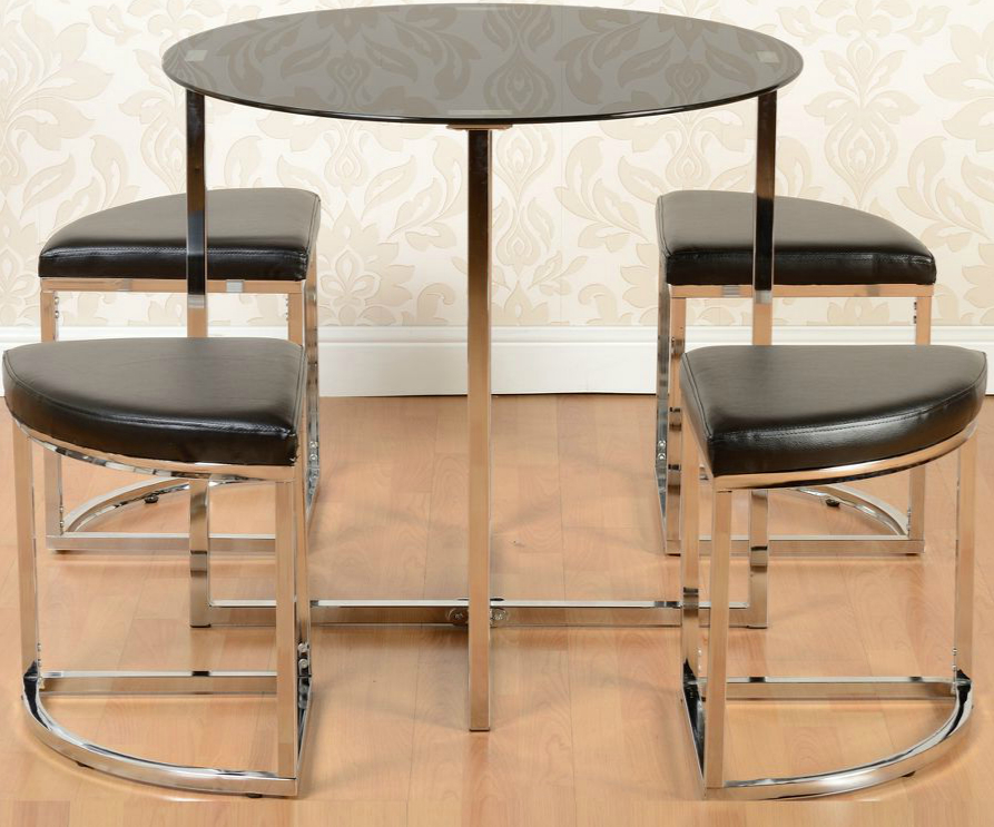 Current Grafton Stowaway Dining Set – Noct Offs Throughout Stowaway Dining Tables And Chairs (View 18 of 20)