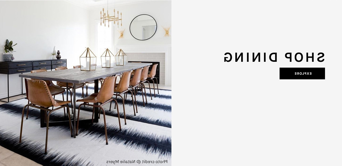 Current Helms 6 Piece Rectangle Dining Sets With Side Chairs Pertaining To Modern Rugs, Furniture, & Decor (Gallery 17 of 20)