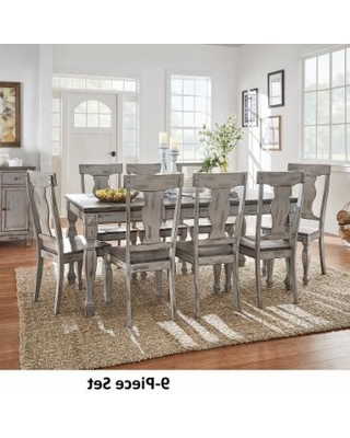 Current Jaxon Grey 6 Piece Rectangle Extension Dining Sets With Bench & Wood Chairs Intended For Splendid Design Ideas Grey Wood Dining Set Jaxon 6 Piece Rectangle (View 3 of 20)