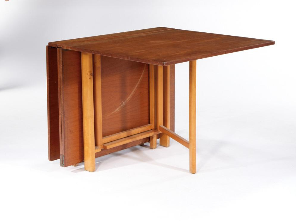 Current L Shaped Wooden Folding Table With Simple Folding Chairs. Part Of Regarding Wood Folding Dining Tables (Gallery 8 of 20)