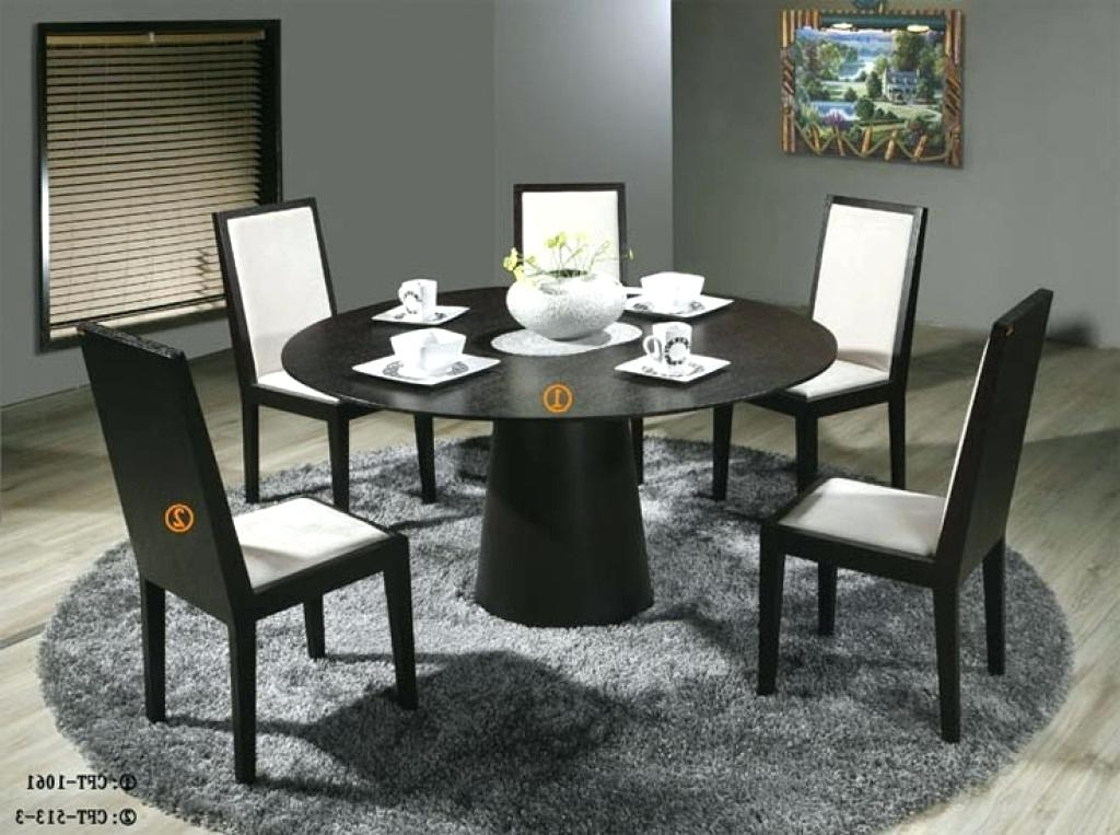 Current Large Modern Dining Tables Round Modern Dining Tables Modern Round With Regard To 6 Person Round Dining Tables (View 11 of 20)