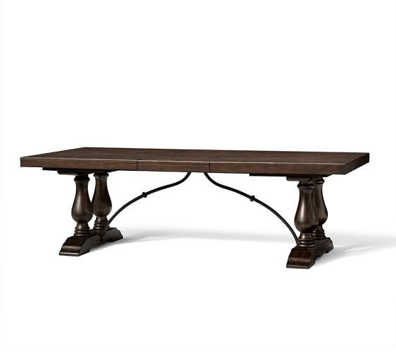 Current Lorraine Extending Dining Table; 96 – 120 Inches (View 19 of 20)