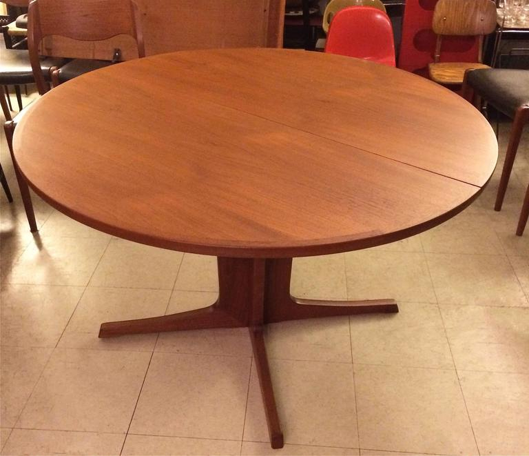 Current Niels O. Møller Round Teak Extension Dining Table At 1Stdibs Within Round Teak Dining Tables (Gallery 2 of 20)