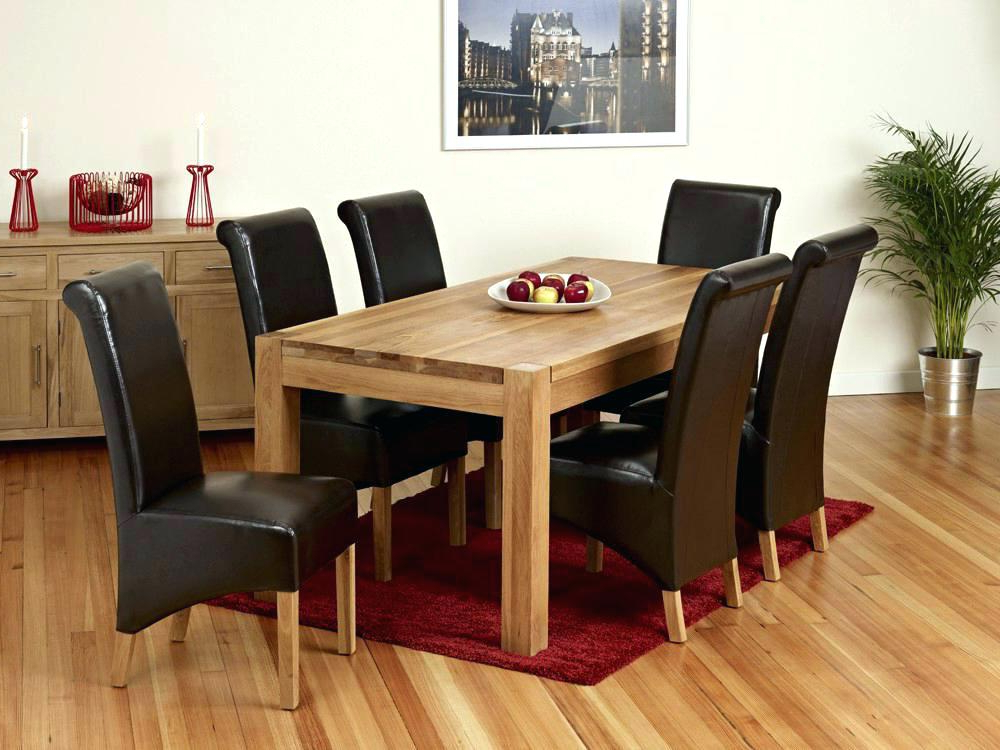 Current Oak Dining Room Table And 8 Chairs – Justbit With Solid Oak Dining Tables And 8 Chairs (View 20 of 20)