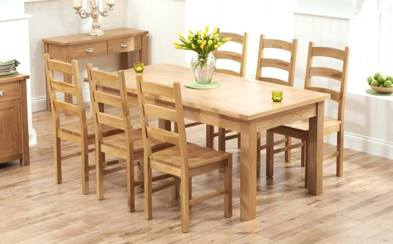 Current Oak Dining Table Chairs 6 Oak Dining Table Sets Oak Extending Dining Intended For Oak Extending Dining Tables And Chairs (View 10 of 20)