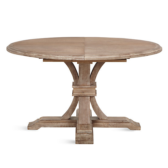 Current Round Extendable Dining Tables Inside Archer Round Extendable Dining Table (Gallery 6 of 20)