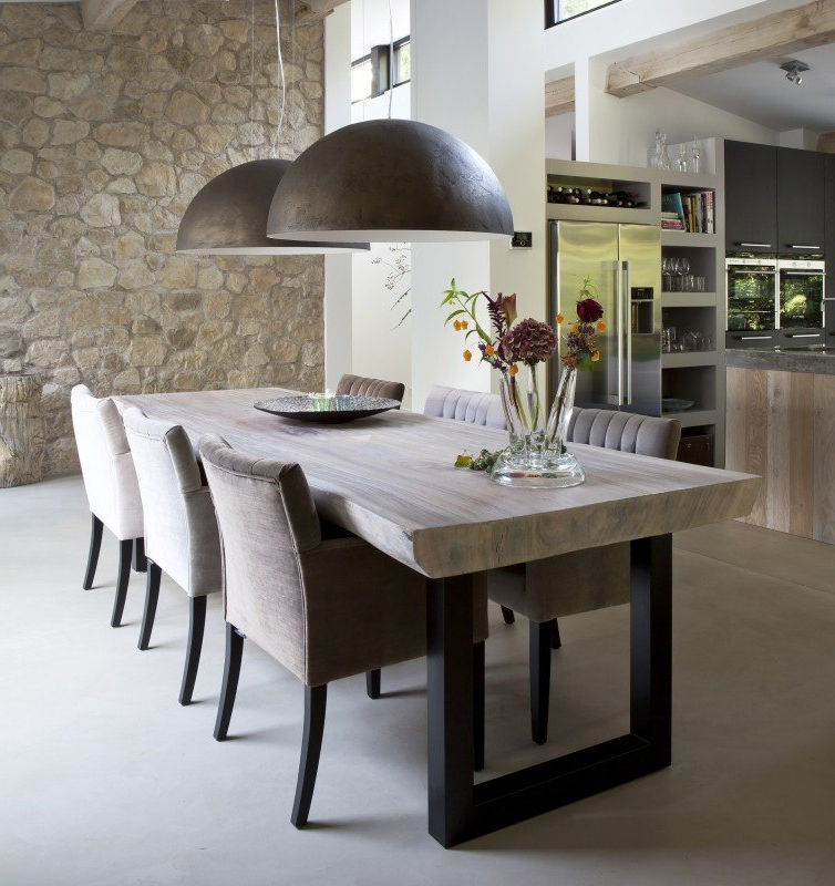 Current Rustic Industrial Dining Table – Foter Pertaining To Rustic Dining Tables (View 14 of 20)