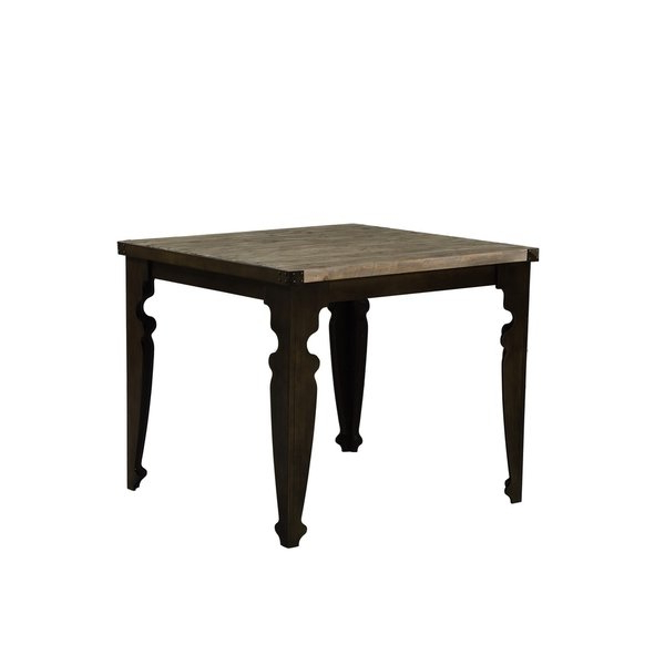 Current Shop Emerald Home Valencia Reclaimed Pine Gathering Height Dining Within Valencia 72 Inch Extension Trestle Dining Tables (View 4 of 20)