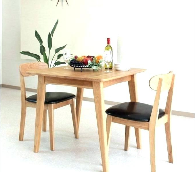 Current Small Dining Table For 2 – Scribblekids With Dining Tables For Two (Gallery 8 of 20)