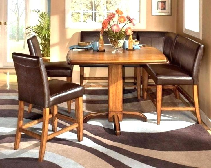 Current Small Round Dining Table With 4 Chairs Intended For Small Round Dining Table Set Small Dining Table For 4 Small Dining (Gallery 17 of 20)