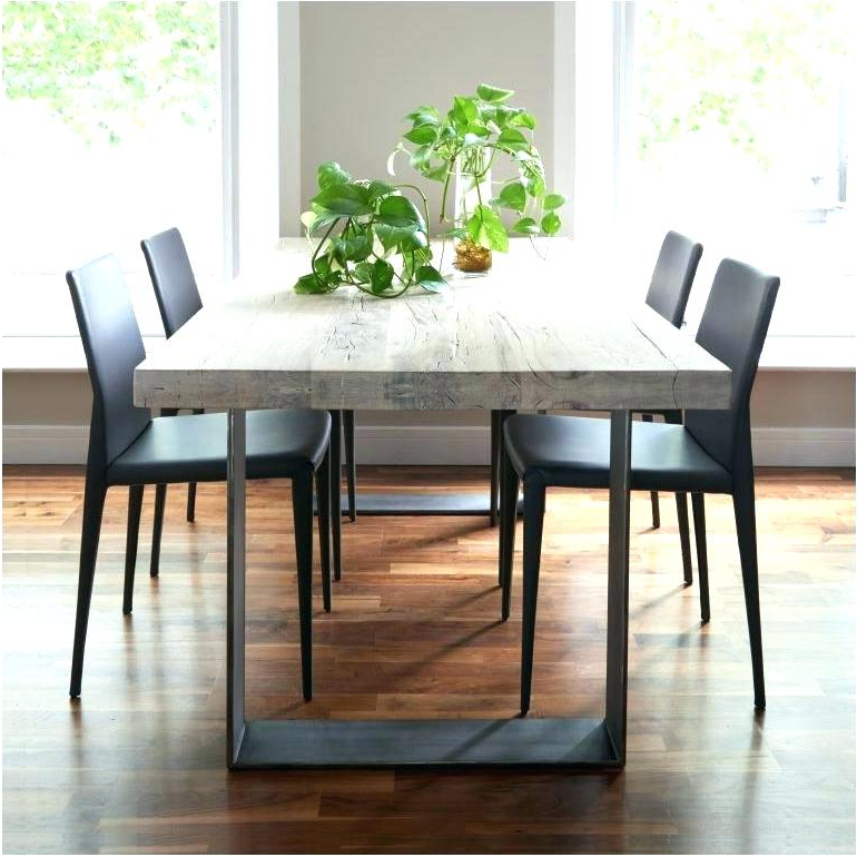Current Solid Dark Wood Dining Tables With Regard To Dark Wood Kitchen Table Tall Black Dining Table Lovely Dining Room (View 6 of 20)