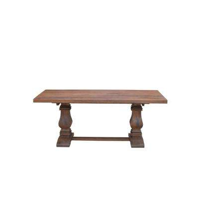 Current Solid Wood – Kitchen & Dining Tables – Kitchen & Dining Room With Regard To Natural Wood & Recycled Elm 87 Inch Dining Tables (View 3 of 20)