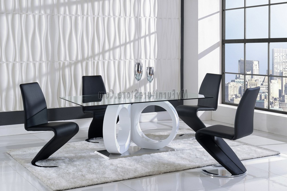 Current Stylish Dining Chairs Throughout D9002dt Global Stylish Dining Set (View 19 of 20)
