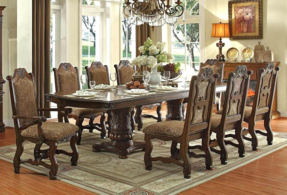 Current Traditional Dining Tables Regarding Beautiful Dining Tables – Kuchniauani (View 17 of 20)