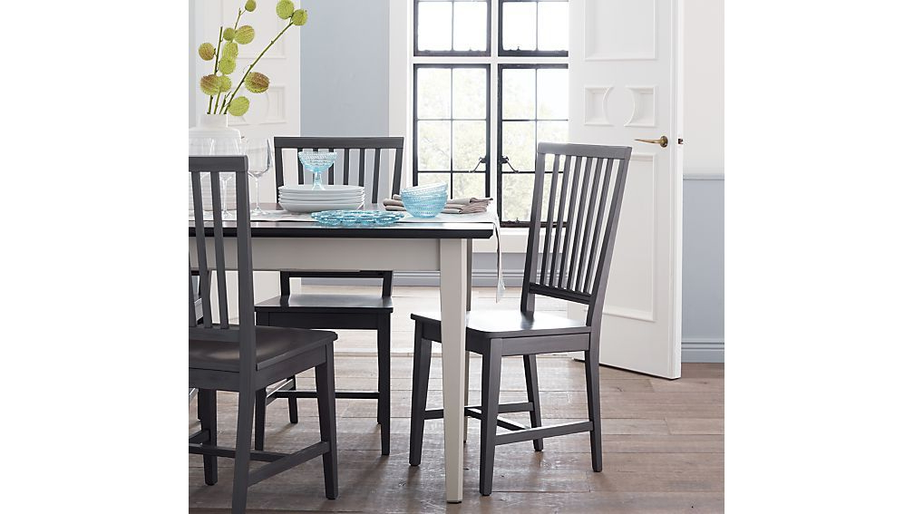 Current Village Grigio Wood Dining Chair And Natural Cushion (View 5 of 20)