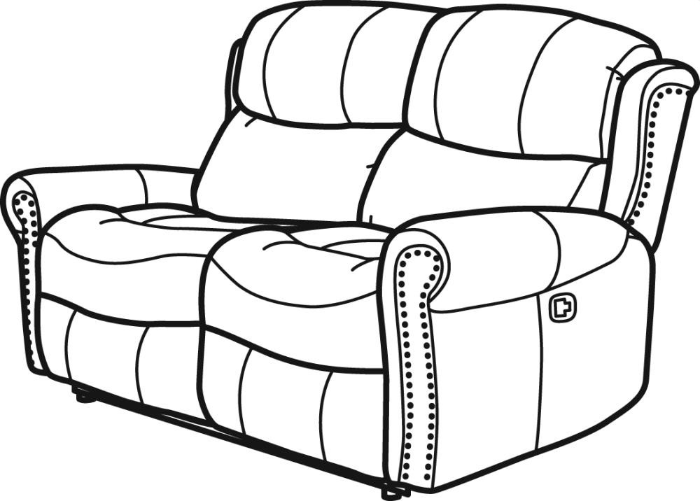 Current Walden Fabric Reclining Loveseat (View 3 of 20)