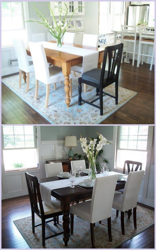 Current Weaver Ii Dining Tables Within Beautiful Kitchen Table Redo @allyson Angelini Angelini Weaver (View 5 of 20)