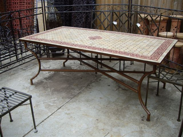 Current Wonderful Decoration Mosaic Dining Tables Mosaic Dining Tables For Throughout Mosaic Dining Tables For Sale (View 4 of 20)