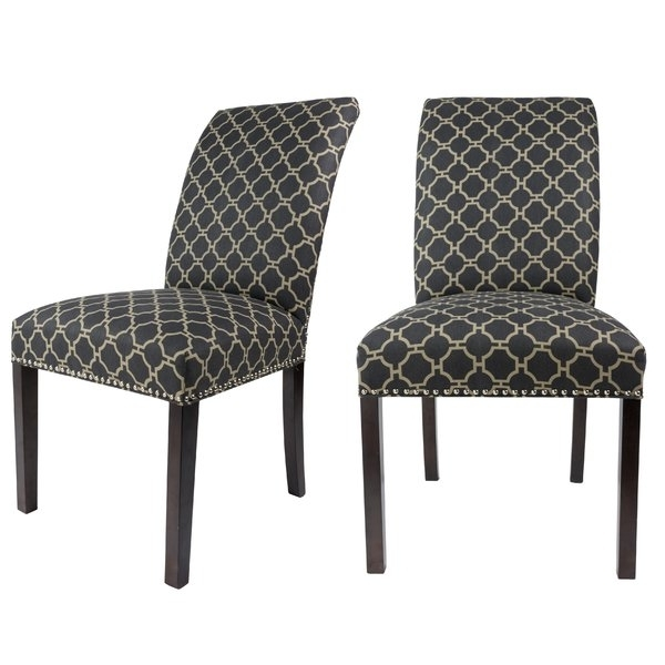 Curved Back Upholstered Chairs (View 4 of 20)