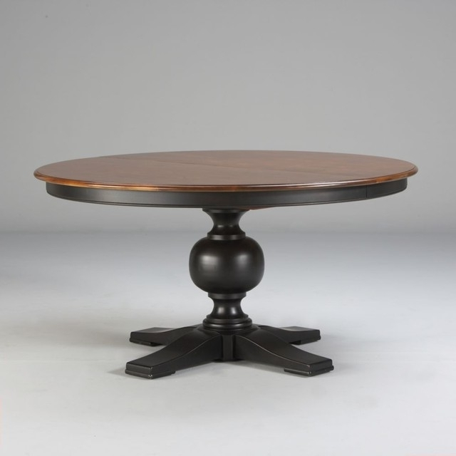 "Custom Classics Cooper Round Table 60"" – Traditional – Dining Tables Regarding Preferred Cooper Dining Tables (View 7 of 20)"