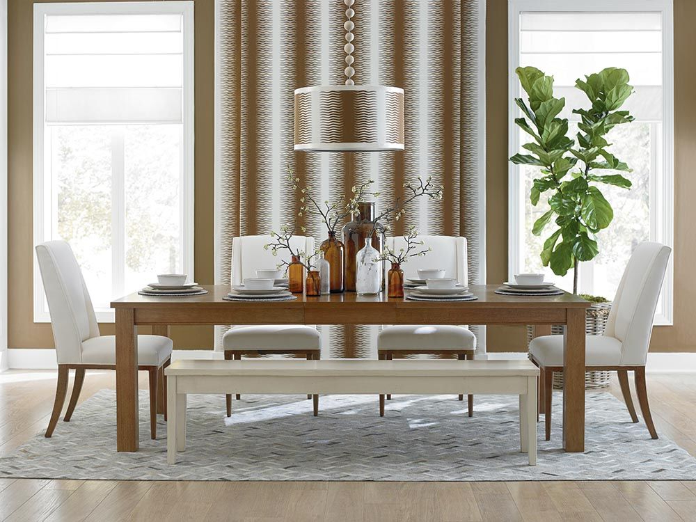"Custom Dining 46"" Rectangular Dining Table (View 8 of 20)"