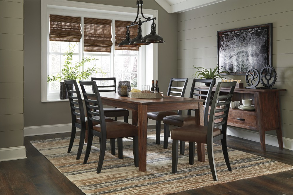 D648 Intended For Market 6 Piece Dining Sets With Side Chairs (View 6 of 20)