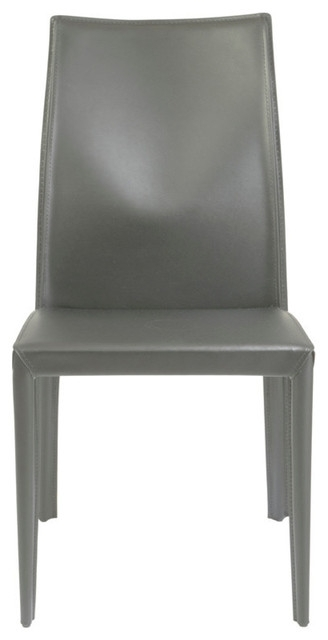 Dafney Side Chair – Contemporary – Dining Chairs  Euro Style Intended For Well Known Caira Black Upholstered Side Chairs (View 8 of 20)