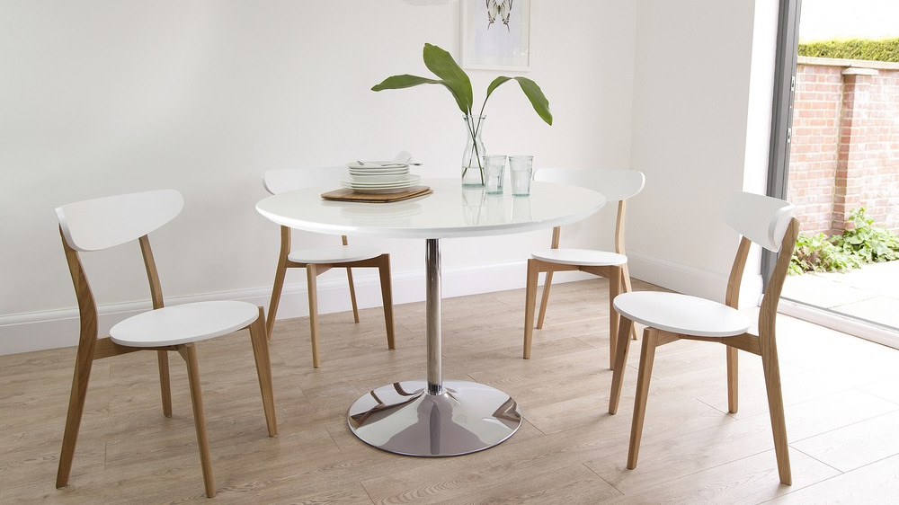 Danetti Uk In 2018 White Dining Chairs (Gallery 17 of 20)