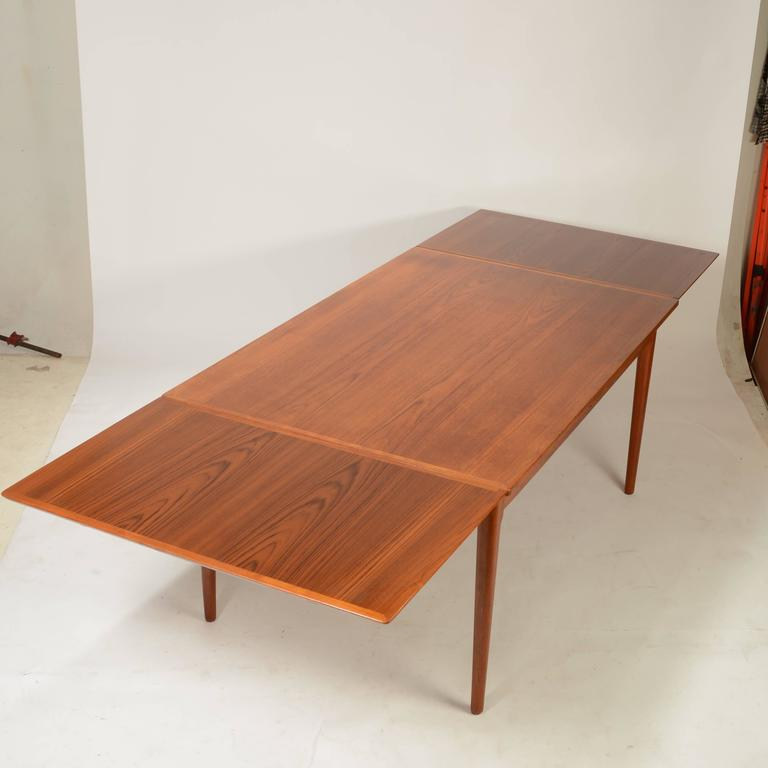 Danish Dining Tables In Most Recently Released Large Danish Modern Teak Dining Tablel&f Mobler For Sale At 1stdibs (View 3 of 20)