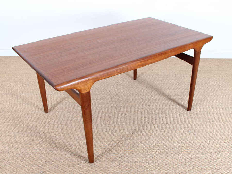Danish Dining Tables Inside Best And Newest Mid Century Modern Danish Dining Table In Teakjohannes Andersen (View 7 of 20)