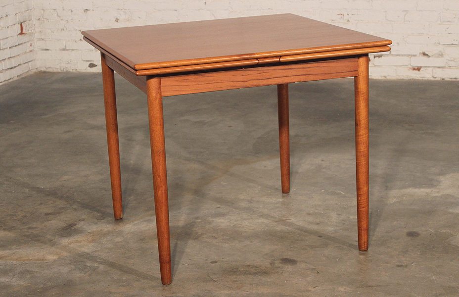 Danish Dining Tables Pertaining To Current Sold – Danish Modern Teak Square Expanding Dining Table – (Gallery 17 of 20)