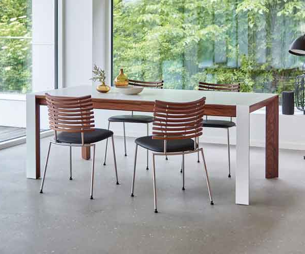 Danish Style Dining Tables In Famous Scandinavian Dining Tables (View 19 of 20)
