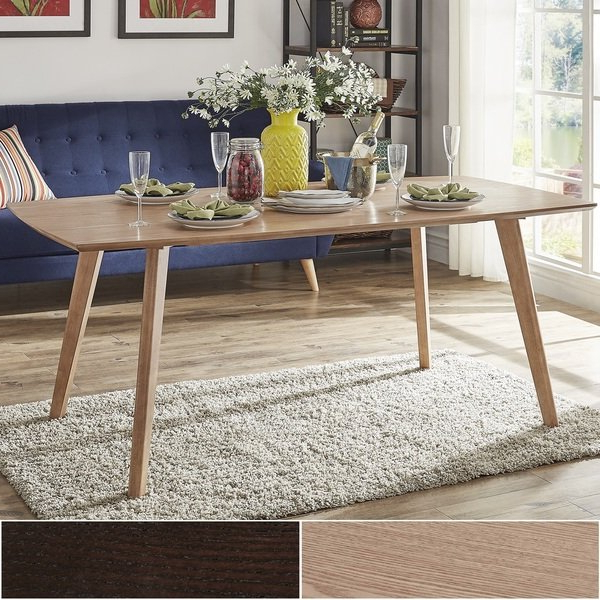 Danish Style Dining Tables With Regard To Fashionable Shop Abelone Scandinavian Dining Tableinspire Q Modern – On Sale (View 8 of 20)