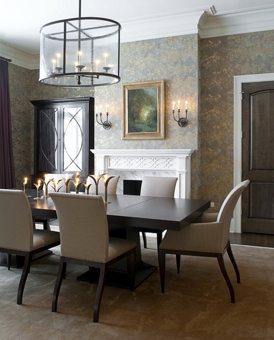 Dark Dining Room Tables Within Most Recently Released  (View 6 of 20)