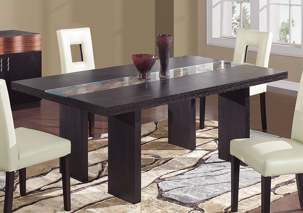 Dark Dining Tables For Trendy Global Furniture Usa Amanda Dining Table – Dark Brown Gf Amanda Dt (View 3 of 20)