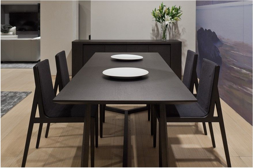 Dark Dining Tables Intended For 2018 Great Dark Wood Square Table Contemporary Teak Dining Tables – Dark (View 6 of 20)