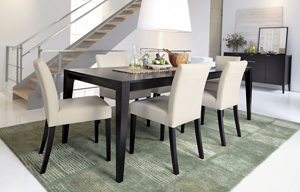 Dark Dining Tables With Most Recently Released Dining Room Design: Dark Wooden Expandable Dining Table, Dining (View 13 of 20)