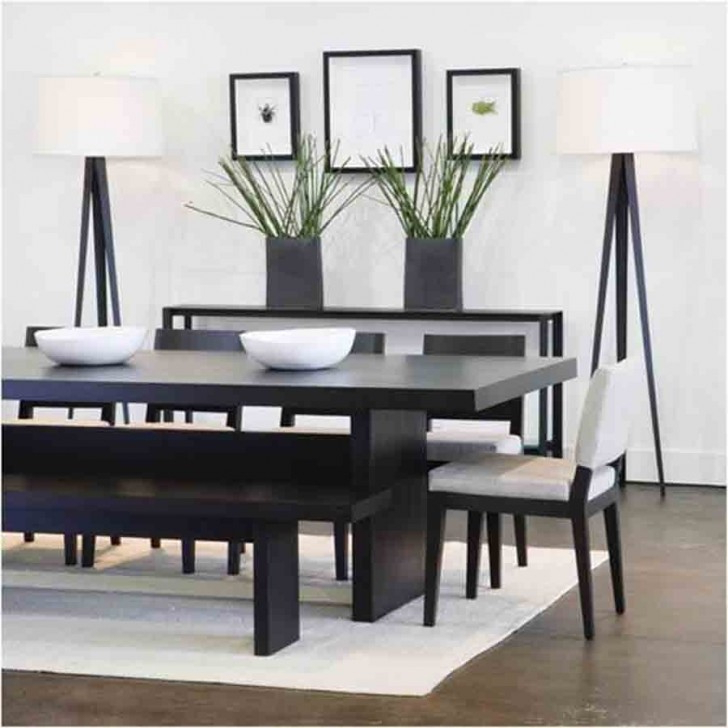 Dark Solid Wood Dining Tables Pertaining To Most Recent Dark Wood Dining Table And Chairs Fair Design Ideas M Solid (View 3 of 20)