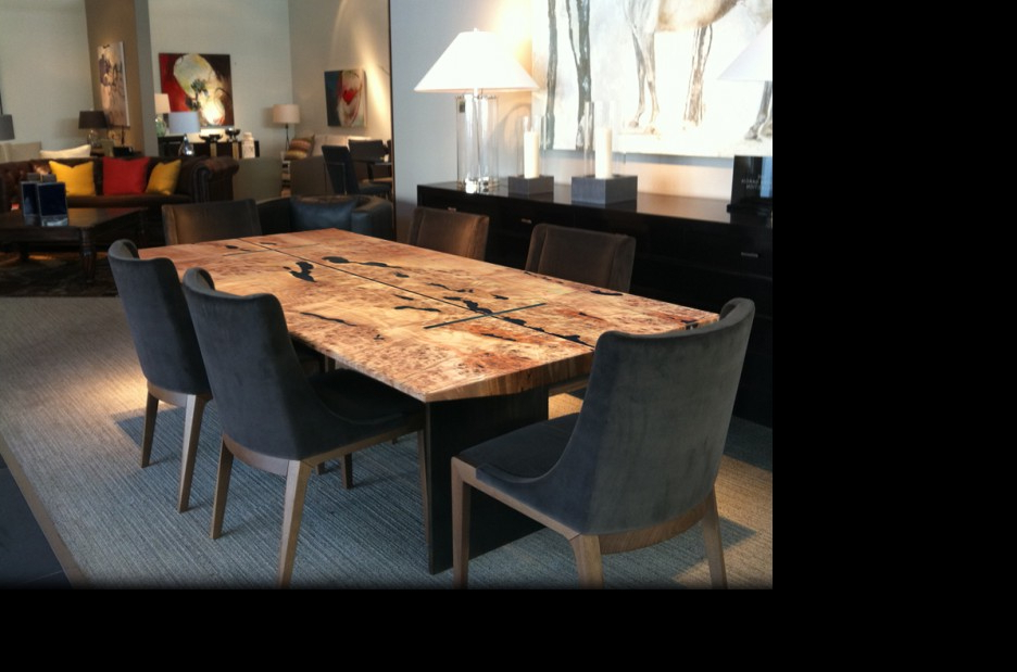 Dark Solid Wood Dining Tables Pertaining To Widely Used Beautiful Reclaimed Wood Dining Table Design Featuring Rectangle (View 4 of 20)