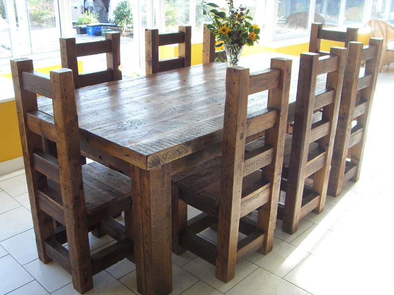 Dark Solid Wood Dining Tables Throughout Preferred Amazing Teak Wood Solid Wood Dining Table Arts Bench Design –  (View 6 of 20)