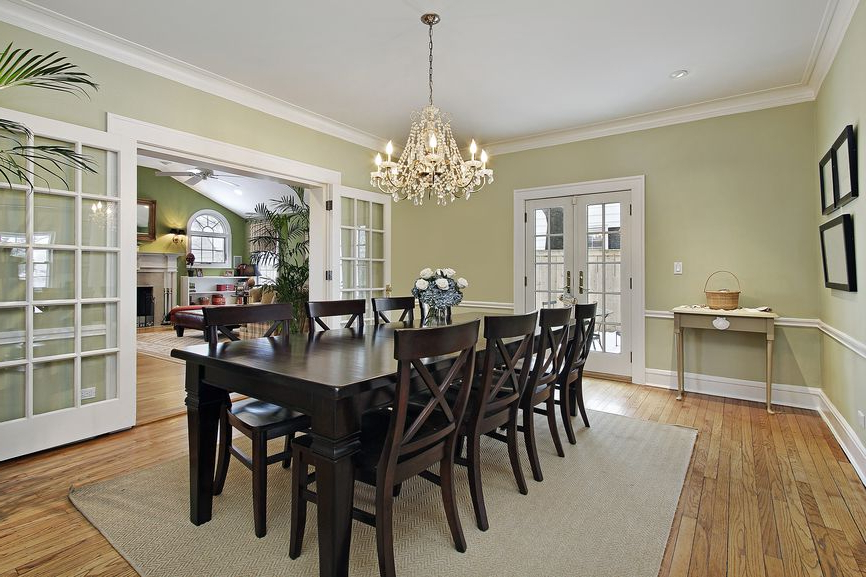 Dark Wood Dining Room Furniture Inside Most Up To Date 500 Dining Room Decor Ideas For 2018 (All Styles, Colors And Sizes (Gallery 20 of 20)