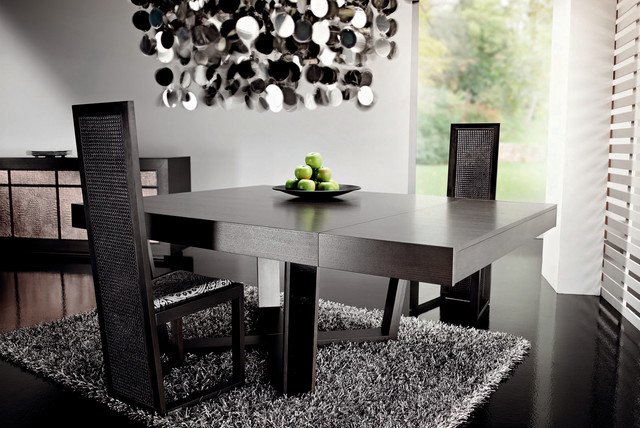 Dark Wood Dining Tablerattanwood With Regard To Recent Dark Dining Tables (View 9 of 20)