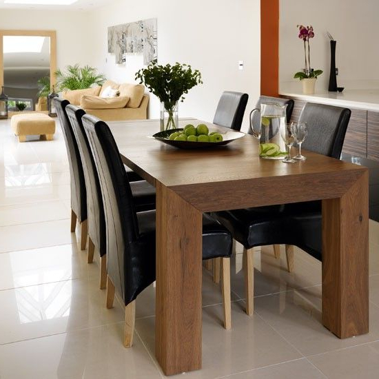 Dark Wood Dining Tables Regarding Most Recently Released Gorgeous Dark Wood Dining Table Design: Awesome Dark Wood Dining (View 7 of 20)