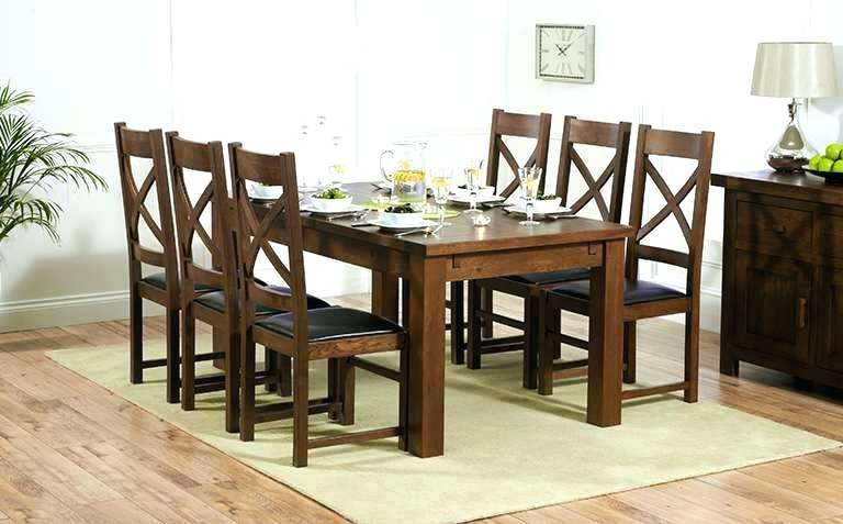 Dark Wooden Dining Tables With Regard To Most Popular Wooden Dining Tables And Chairs Wood Dining Table Design Ideas Best (View 14 of 20)