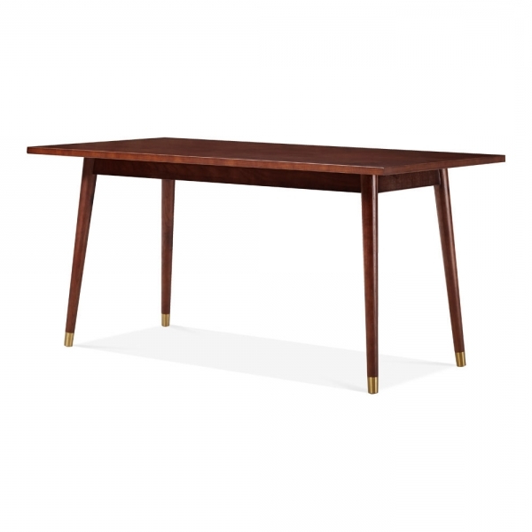 Dawson Rectangle Dining Table Walnut 160cm (View 15 of 20)