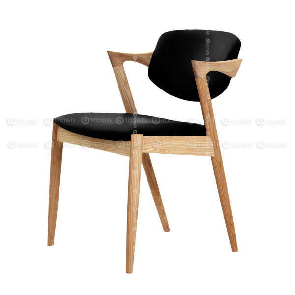 Decor8 Modern Furniture Kai Oak Dining Chair – Solid Wood Dining For Fashionable Oak Dining Chairs (View 3 of 20)