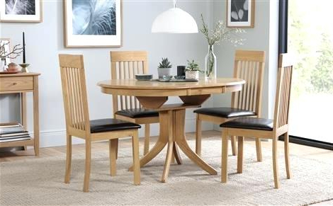 Decoration: 6 To 8 Extendable Glass Top Dining Table Set Round And With Regard To 2018 Extendable Dining Room Tables And Chairs (Gallery 19 of 20)